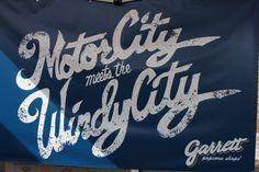 #MotorCity Meets The #WindyCity!