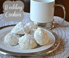 Wedding Cookies | OAMC from Once A Month Mom
