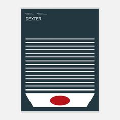 Dexter Print now featured on Fab.