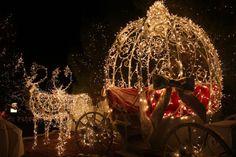 princess, dream, fairy tales, christmas displays, christmas lights