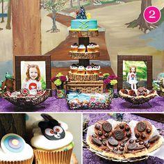 'Brave' inspired dessert table