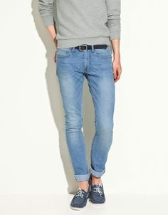 can't go wrong with a pair of basic slim jeans.