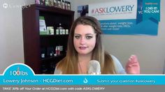 #AskLowery. In this episode Lowery covers how to transition off HCG Drops &  What to do during parties.