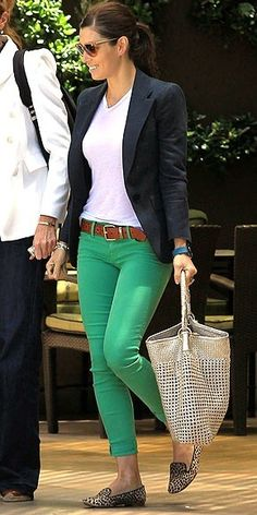 Colored jeans >>