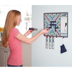 The Walk By Scrabble Board - Hammacher Schlemmer. need this