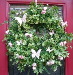 spring wreath...BEAUTIFUL