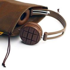 The 'Sound Like Chocolate' Headphones from Fu-Bi are a Treat #gadgets trendhunter.com