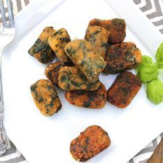Spinach + Sweet Potato Crispy Gnocchi – Predominantly Paleo food, potato crispi, sweet potato