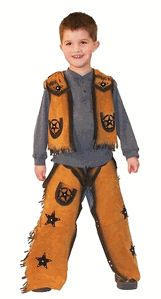 Buckaroo Chap and Vest Set