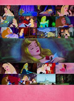 favorit disney, sleeping beauty, disney movies, aurora collag, princess aurora, dreams, disney princesses, collages, blues