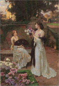 Ladies in Garden