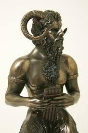 The horned god pan