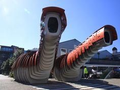architects, studios, sea creatures, seas, street art