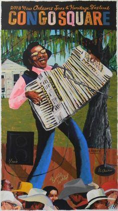 Congo Square 2013 in Congo Square Poster