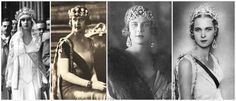 The Royal Order of Sartorial Splendor: Tiara Thursday (on a Friday): Queen Margherita's Musy Tiara-here worn by Crown Princess Maria Jose, later last Queen of Italy