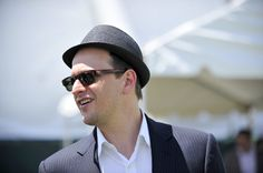 Josh Charles at the Preakness