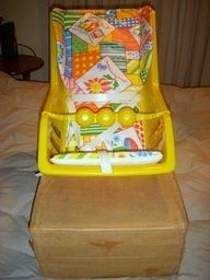 Antique Vintage Retro Old Evenflo Infant Seat Baby Child Chair NEW Original Box | eBay