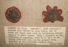 V&A 10th cent embroidery by Vrangtante Brun