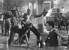 film debut, vintag black, 1948 film, black glamour, eartha kitt, katherin dunham, dance, danc icon, missouri histor