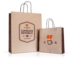 Espresso Republic - love the logo