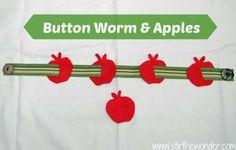 Button Worm & Apples - Stir The Wonder