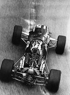 Jochen Rindt in the Cooper Maserati at Monaco 1967