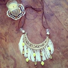 Fantastic Fringe Beaded Necklace | AllFreeJewelryMaking.com