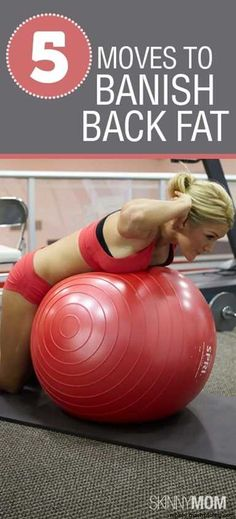5 GREAT Moves to Banish Back Fat! Get summer ready