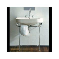 Duravit console sink for bathroom