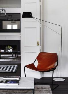 Toorak House Robson RAK Architects | © Sharyn Cairns 06 | Est Magazine Love this chair....