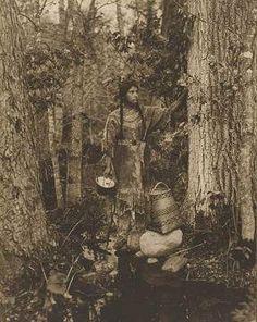 Ojibwa woman - 1915