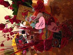 Cute Valentines day gift for boyfriend, a man bouquet!