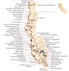 CALIFORNIA:  The Top 20 Must See Places