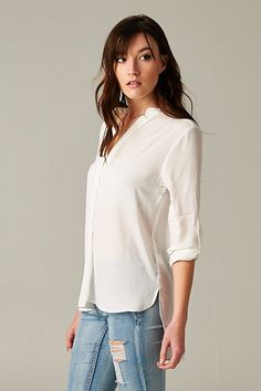 Danny Shirt in Soft White