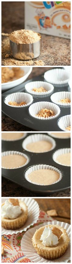 Churro Cheesecake Bites