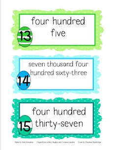 Great number activity