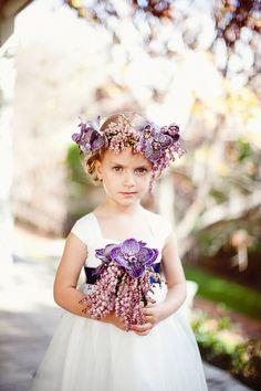 Flower Girl Floral Crown