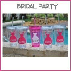 Great bridal party gifts $12 bachelorette parties, tumblers, gift 12, names, bridesmaid gifts, parti gift, bridal parties, bridal party gifts, parti tumbler