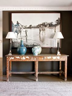 ~greige: interior design ideas and inspiration for the transitional home : Casual lux... with plum