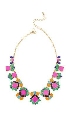 Kate Spade New York Metropolis Mosiac Necklace