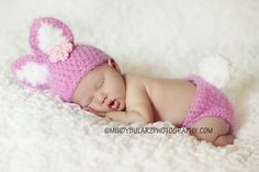 crochet baby bunny outfit