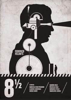 Italian Movies ~ Federico Fellini #vintageposters #italian #posters #fellini #movies