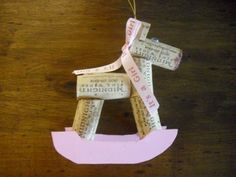 Reindeer Christmas Ornament by WineCountryCrafters on Etsy