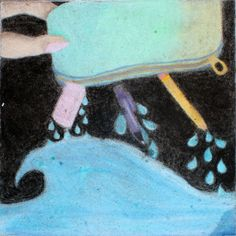 Middle School category — Square 98: 'Dropping into Summer' by Roma Pirnie, Eun Oh, Arden Lieux, and Hannah Maddox.