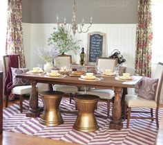 Dining room makeover from Centsational Girl