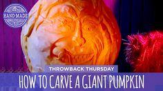 How to Carve a Giant Pumpkin - HGTV Handmade