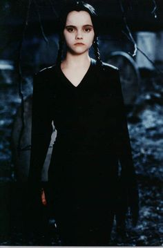 wednesday adam, color, famili, funni, quot, wednesday addams, black, christina ricci, halloween