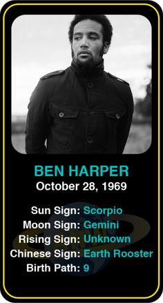 Celeb #Scorpio birthdays: Ben Harper's astrology info! Sign up here to see more: https://www.astroconnects.com/galleries/celeb-birthday-gallery/scorpio #astrology #horoscope #zodiac #birthchart #natalchart #benharper