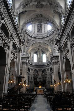 Les Miserables   Église St-Paul, St-Louis, Paris, France. This is where Victor Hugo envisioned Cosette's Wedding.