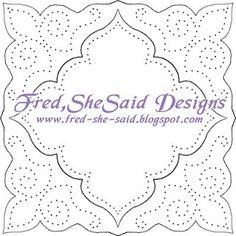 Fred, She Said - Digital Design & Papercrafting Goodness: paper pricking